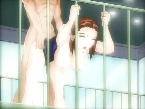 Showering anime broad gets owned