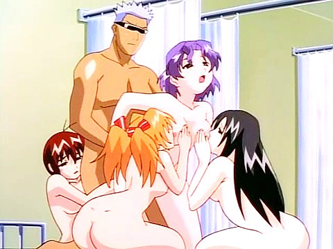 Group hentai fucking in hospital
