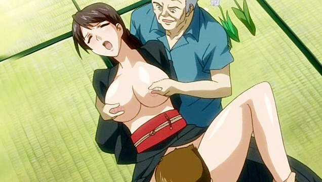 mature and young lover fucking the holes of hentai broad