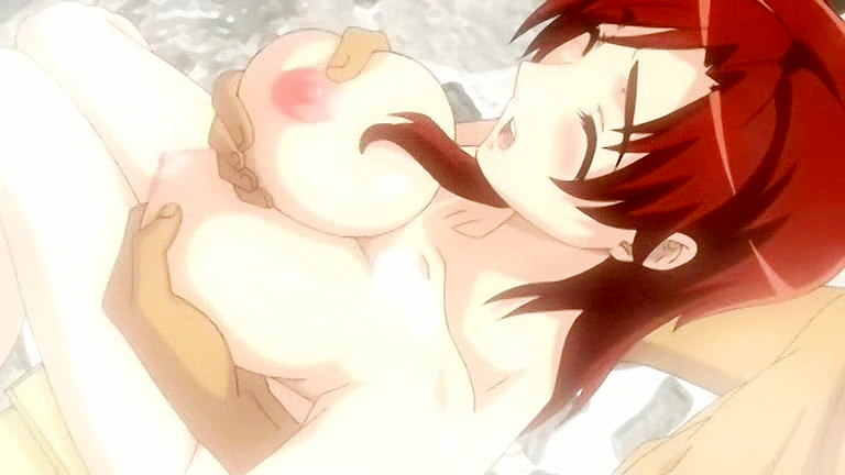 Best monstrous breasts anime sex scene