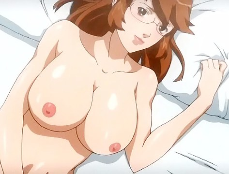 Babe stimulates twat and cums in anime
